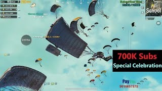[Hindi] PUBG Mobile   700k Subs Special Celebration With Subscribers