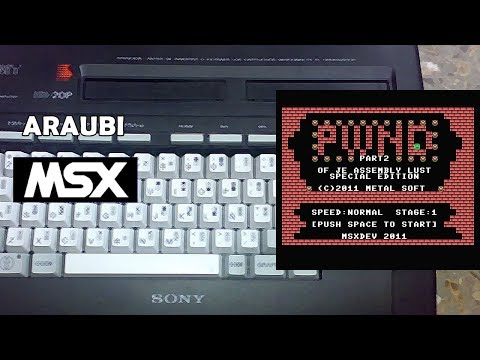 PWND 2 (Metal Soft, 2011) MSX [613] Walkthrough