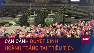 Duyệt binh hoành tráng tại Triều Tiên sau Đại hội Đảng lần thứ 8 | VTC Now