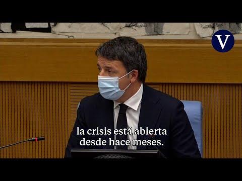 Renzi anuncia la dimisión de sus ministras y abre una crisis de Gobierno en Italia
