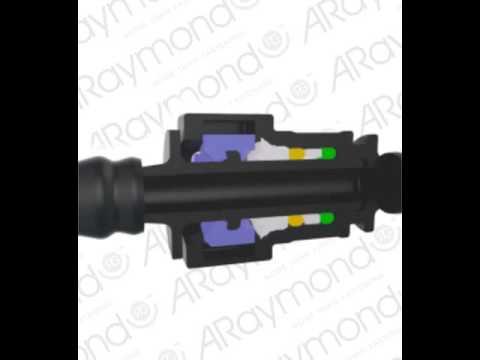 ARaymond 2 button Quick Connector