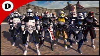 ALL CLONE COMMANDERS AMBUSHED BY GRIEVOUS - Men of War: Star Wars Mod