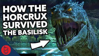 Why the Horcrux in Harry Wasn't Destroyed by the Basilisk [Harry Potter Explained]