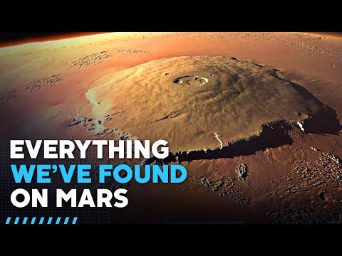 Што сè имаме откриено на Марс досега?