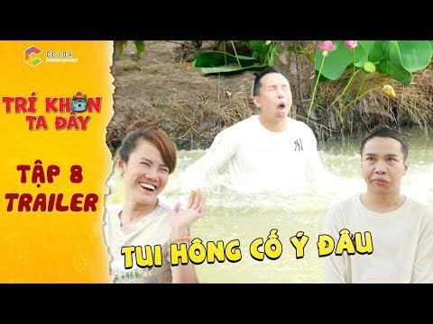 Trí khôn ta đây|Trailer tập 8: Thánh lô tô Tâm Thảo trả lời sai lia lịa làm Su Su nhảy sông mệt nghỉ