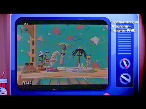 Imagina 1990. Fragmento de los cortos del festival de infografía de Montecarlo.