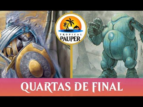 Orzhov Pestilence VS Jeskai Affinity - Tropical Pauper 1.01 - Quartas de Final