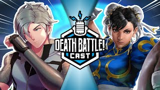 Chun-Li VS Mercury Black w/ RWBY's Eddy Rivas | DEATH BATTLE Cast #221