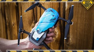Hydro Dipping Drones in Spraypaint