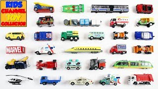 Learn Vehicles For Kids Children Babies Toddlers   Garbage Truck Taxi Ambulance   Kids Learning