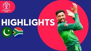 Haris Sohail Hits 89! | Pakistan vs South Africa - Match Highlights | ICC Cricket World Cup 2019