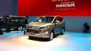 Toyota Việt Nam giới thiệu Innova 2016 thế hệ hoàn toàn mới