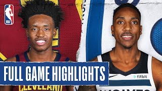 CAVALIERS at TIMBERWOLVES | FULL GAME HIGHLIGHTS |  December 28, 2019
