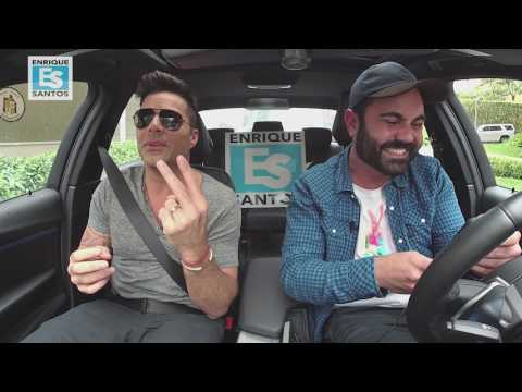 Ricky Martin se subió al Uber de Enrique Santos #EnriqueUber