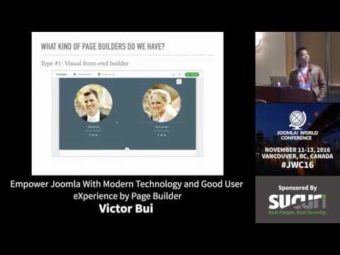 JWC 2016 - Empower Joomla with modern technologies... - Victor Bui