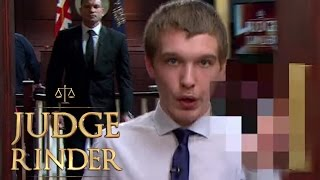Benefits Britain's Travis Simpkins Swears at Judge Rinder, Gets Kicked Out of Court! | Judge Rinder