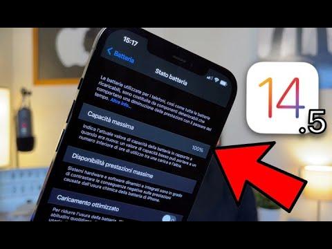 iOS 14.5: NUOVA CALIBRAZIONE BATTERIA su …