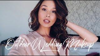 Fresh, Dewy Makeup Tutorial | Outdoor Wedding | Aja Dang