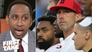 Stephen A.: 49ers players were visibly upset by Kyle Shanahan's play-calls | First Take