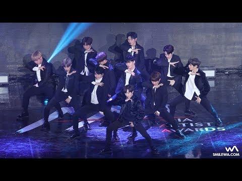 171115 Wanna One (워너원) '에너제틱 + 활활' 4K 직캠 @아시아 아티스트 어워즈 (AAA) 4K Fancam by -wA-