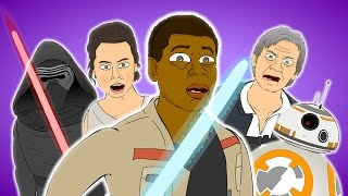♪ THE FORCE AWAKENS THE MUSICAL - Animated Star Wars Song