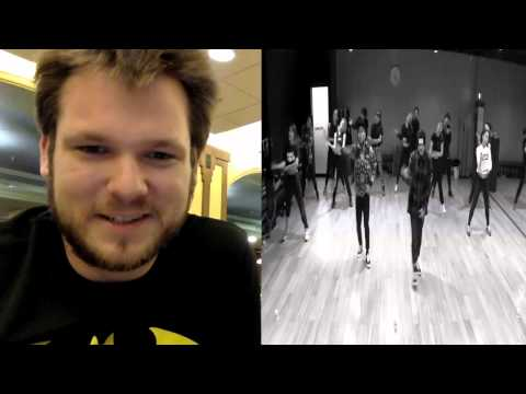 GD Taeyang Good Boy Dance Practice non Kpop Reaction