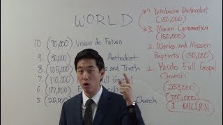 Satan's Top 10 World's Largest Churches! Who??? | Dr. Gene Kim