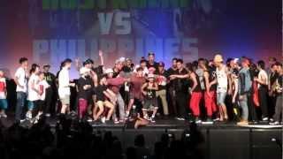 World Supremacy Battleground- Australia VS Philippines