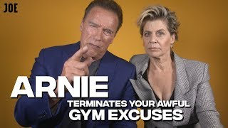 Arnold Schwarzenegger's top tips on getting back in the gym