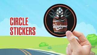 Custom Circle Stickers