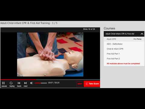 CPR Certification Course Demo – Simple CPR