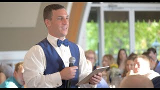 How to give a great wedding speech - An emotional wedding film
