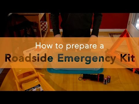 Building a Roadside Emergency Kit
