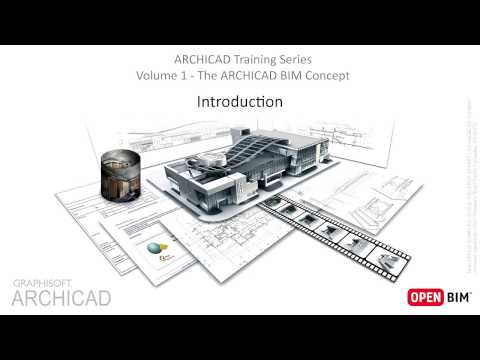 1 - Introduction, Interface - ARCHICAD Training Series Vol. 1
