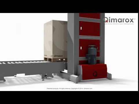 Qimarox Prorunner mk9 Vertical Conveyor