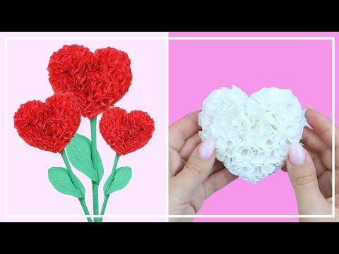 Как сделать Сердце из Бумаги — ВАЛЕНТИНКА, ПОДАРОК, ДЕКОР — Paper heards DIY — NataliDoma