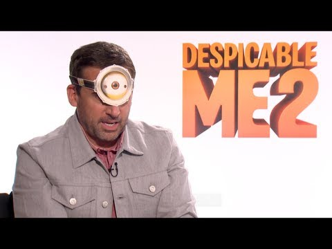 DESPICABLE ME 2 Interviews: Steve Carell, Kristen Wiig and Benjamin Bratt