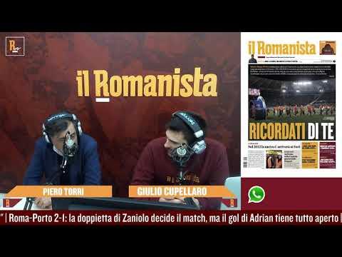 Piero Torri commenta Roma-Porto 2-1: