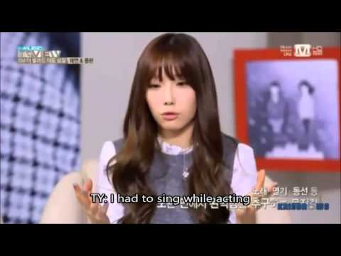 [ENG] The Music Taeyeon and Jonghyun Cut 1