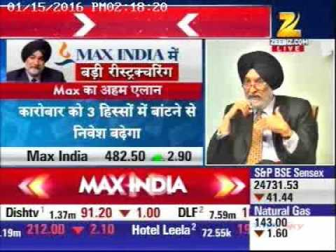 Max India News ZeeBusiness