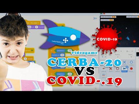 Bimbo crea videogioco per battere il Covid-19