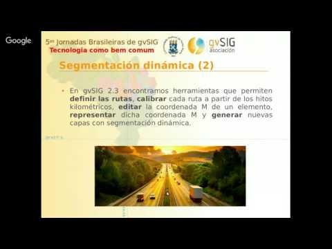 5as Jornadas Brasileiras gvSIG: Novedades gvSIG Desktop 2.3