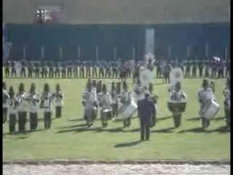 Colegio C. E. E. Bethel en el V concurso Nal. de Bandas Potosí - Bolivia