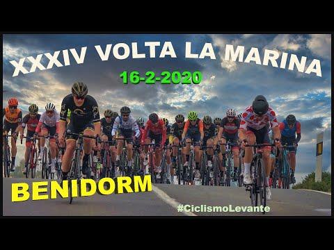 XXXIV Volta La Marina Benidorm 16-2-2020 Ciclismo 4K