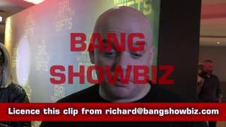 Director Colm McCarthy BANG SHOWBIZ Interview at The Girl with all the Gifts Premiere