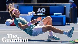 'I surprised myself': Tsitsipas through to Australian Open semi-final