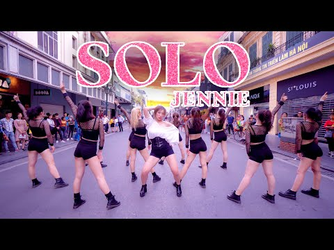 [KPOP IN PUBLIC CHALLENGE] JENNIE - 'SOLO' DANCE COVER by BLACKCHUCK from Vietnam