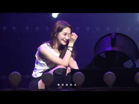 [13.12.28]다비치 네번째 콘서트 부산_미워도 사랑하니까 슬로건 이벤트_Happy Voice