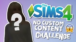 The Sims 4 - No CC Challenge! - (Create-A-Sim)