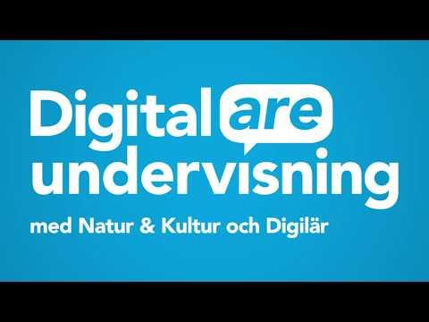 Digitalare undervisning med Natur & Kultur och Digilär